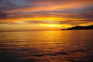 couché de soleil avec Mayotte Découverte